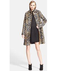 Missoni Animal Jacquard Knit Coat - Lyst