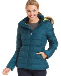 The North Face Gotham Hooded Puffer Jacket - Lyst