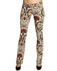 Roberto Cavalli - Just Cavalli Jeans Gabardine Flair Cordoba Print - Lyst