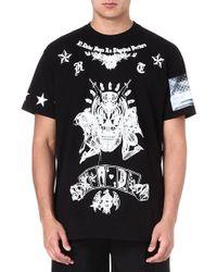 Givenchy Alien Dead Cotton T-shirt - Lyst