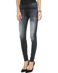 J Brand 620 Mid Rise Super Skinny Jeans  Polarized - Lyst