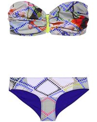 Preen By Thornton Bregazzi - Farrah Bandeau Bikini - Lyst