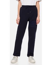 Thom Browne 4-bar Stripe Track Pants - Blue