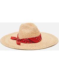 Alanui San Antonio Straw Hat - Natural