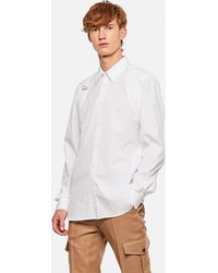 Alexander McQueen Shirt With Strap - White