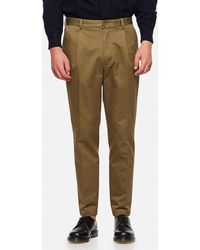 East Harbour Surplus Bryan Heavy Cotton Trousers - Green