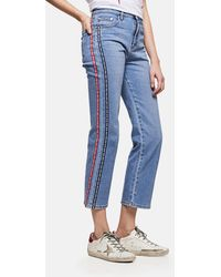 MSGM - High-waisted Jeans - Lyst