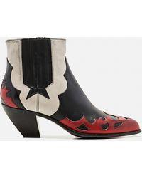 Golden Goose Deluxe Brand Cowboy Boots - Black