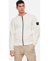 Stone Island Hoodie Sweatshirt - White