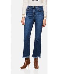 J Brand - Long Stretch Cotton Jeans - Lyst