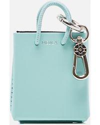 MEDEA Portachiavi a forma di borsa tote - Blu