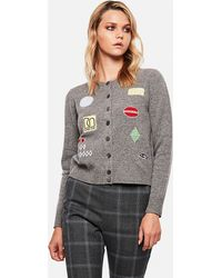 Marc Jacobs Classic Buttoned Cardigan - Grey