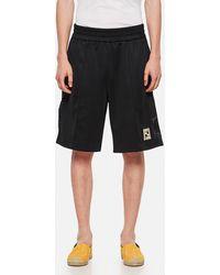Fendi Jersey Bermuda Shorts - Black