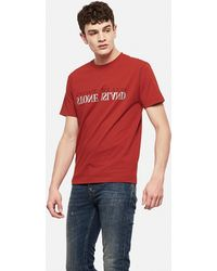 Stone Island - T-Shirt In Cotone - Lyst