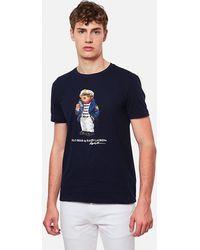 Ralph Lauren T-Shirt Teddy - Blu