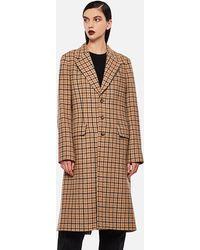 Polo Ralph Lauren Jacey Faux Fur Jacket - Brown