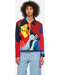 BETHANY WILLIAMS - Jacket With Patchwork Design - Lyst