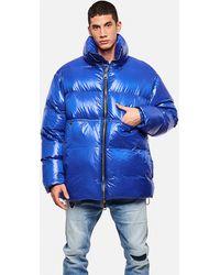 Khrisjoy Khrismen Puffer Nyl Coat - Blue