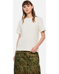 JW Anderson Jwa Embroidered T-shirt - White