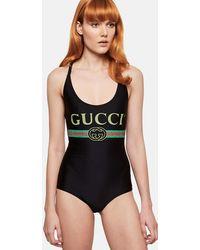 Gucci - Costume Con Logo - Lyst