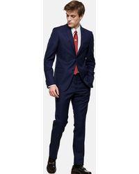 Gucci Stretch Wool Monaco Suit - Blue