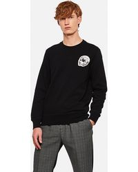 Alexander McQueen Sweatshirt With Skull - Black