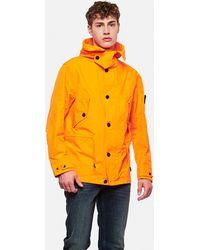 Stone Island David Waterproof Jacket - Orange