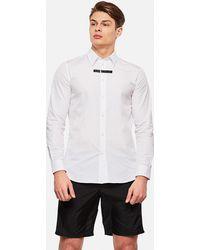 Givenchy Adresse Cotton Shirt - Black