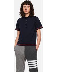 Thom Browne Cotton T-shirt - Blue