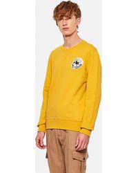 Alexander McQueen Sweatshirt With Skull - Yellow