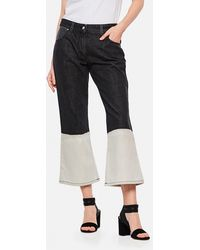 JW Anderson Flared Jeans - Black
