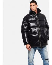 Khrisjoy Loose-fit Padded Coat - Black