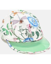 82f42987 Gucci Baseball Hat in Blue for Men - Lyst