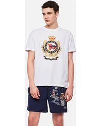 Ralph Lauren T-Shirt In Jersey Classic-Fit - Bianco