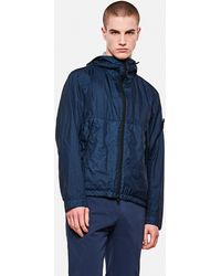Stone Island Nylon Jacket - Blue