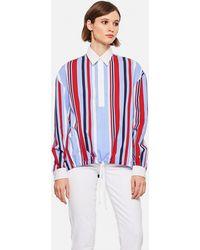 Stella Jean Striped Shirt - Blue