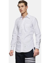 218ef27053d Men's Thom Browne Shirts Online Sale - Lyst