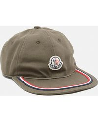 b0b29a73f4c5 Lyst - Moncler Classic Baseball Cap in Blue for Men