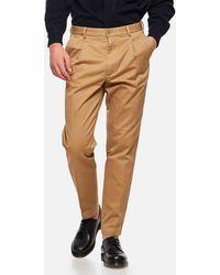 East Harbour Surplus Bryan Heavy Cotton Trousers - Natural