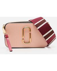 Marc Jacobs Powder Pink Snapshot Bag