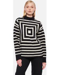 Levi's Levi's ® Vintage Clothing Mock Concentric Wool Jumper - Black