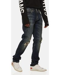 Calvin Klein Jeans Strappati - Blu