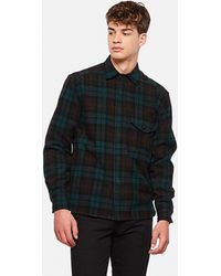 East Harbour Surplus Teddy Flannel Check Shirt - Green