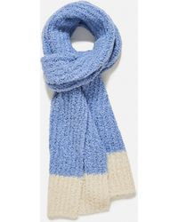 Jacquemus L'echarpe Wool And Mohair Scarf - Blue