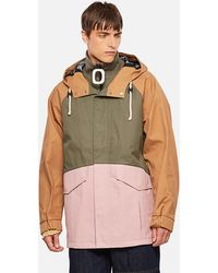 JW Anderson Water Resistant Cotton Jwa Puller Parka - Pink