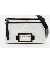 Givenchy Downtown Crossbody Bag - White