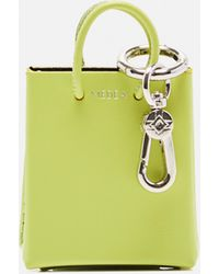 MEDEA Portachiavi a forma di borsa tote - Verde