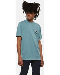 PS by Paul Smith - 'cycling Monkey' Print Cotton T-shirt - Lyst