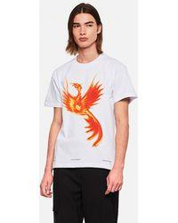 United Standard Phoenix Print T-shirt - White