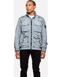 Stone Island Military Jacket - Blue